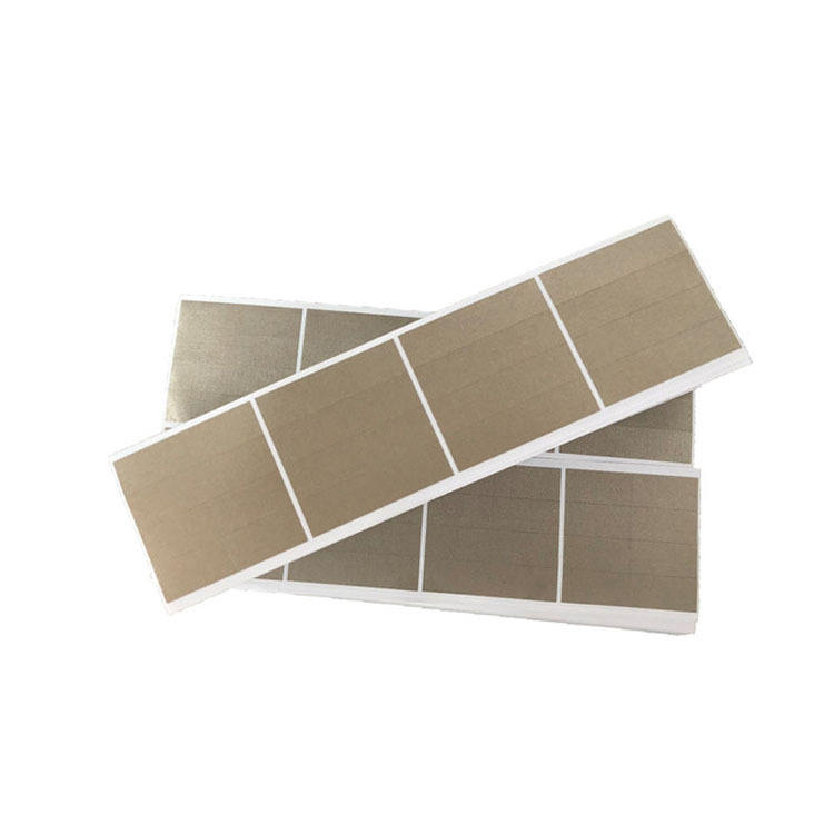 Die cutting RFID Blocking fabric mat Electrically Conductive Fabric Lining sheet for Electronic equipment