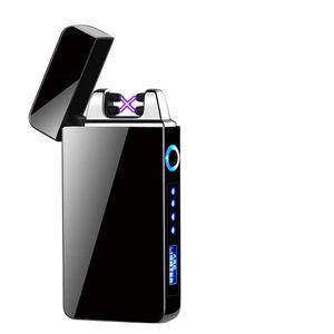 Hot Selling Customized Logo USB Electronic Lighter Electronics Item