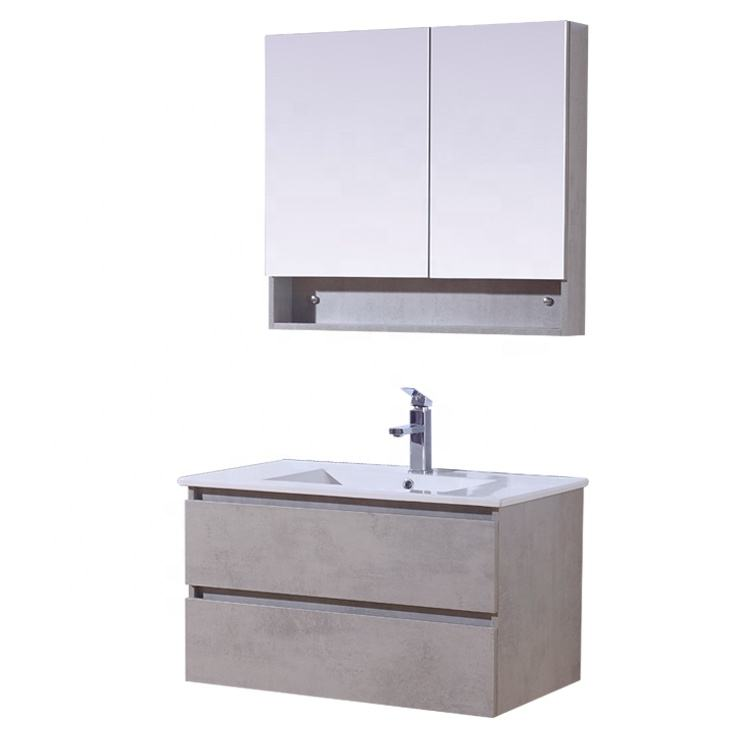 Wholesale New Style Bathroom Vanity Wash Basin Mirror Cabinet