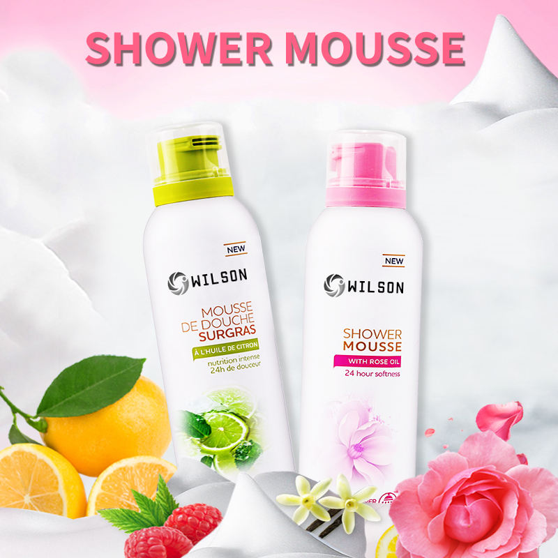 Private Label Bath Wash Shower Mousse For Bubble Bath And Body Wash Manufacturer