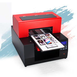 Mini business a3 uv flatbed printer machine voor kristal/mobiele telefoon cover/pvc card/hout/ poster