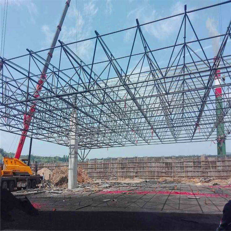 Metal space frame structure steel building prefabricated steel roof frame