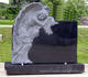 Granite Tombstone, Grave Monument With Best Price, Customized Shape Is Available