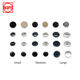 Garment Tape Wholesale Copper Double Cap Fasteners Metal Button Snaps For Shirt