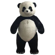 Giant 2m/2.6m/3m/3.5m tall inflatable mascot costume adult walking inflatable panda mascot costume
