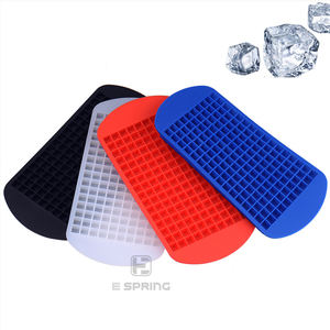 Hot selling food grade silicone Ice Making Mold silicone 160 mini square ice molds small silicon ice cube