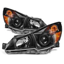 Auto Headlight For SUBARU OUTBACK LEGACY 2010 2011 2012 2013 2014  projector black headlights Head lamp
