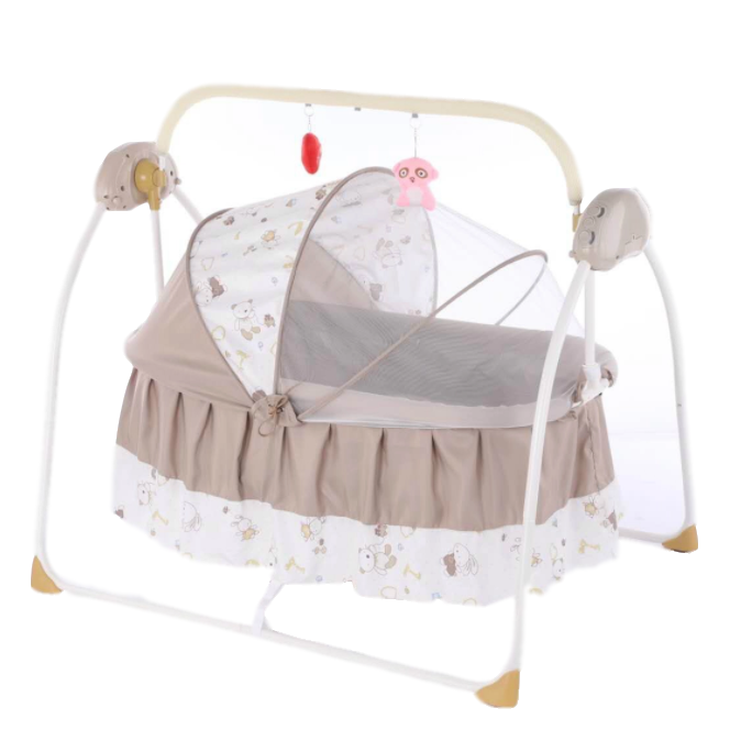 Hot Mom Baby Bouncer Infant Rocker Electric Cradle Chair Swing Appease Recliner Bed with Electronic Music