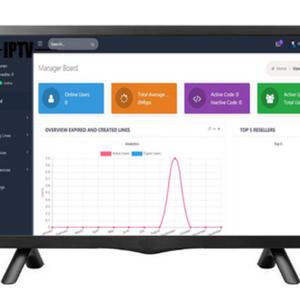IPTV Set Top Box Android TV Box Reseller Panel IPTV Account Reseller Panel