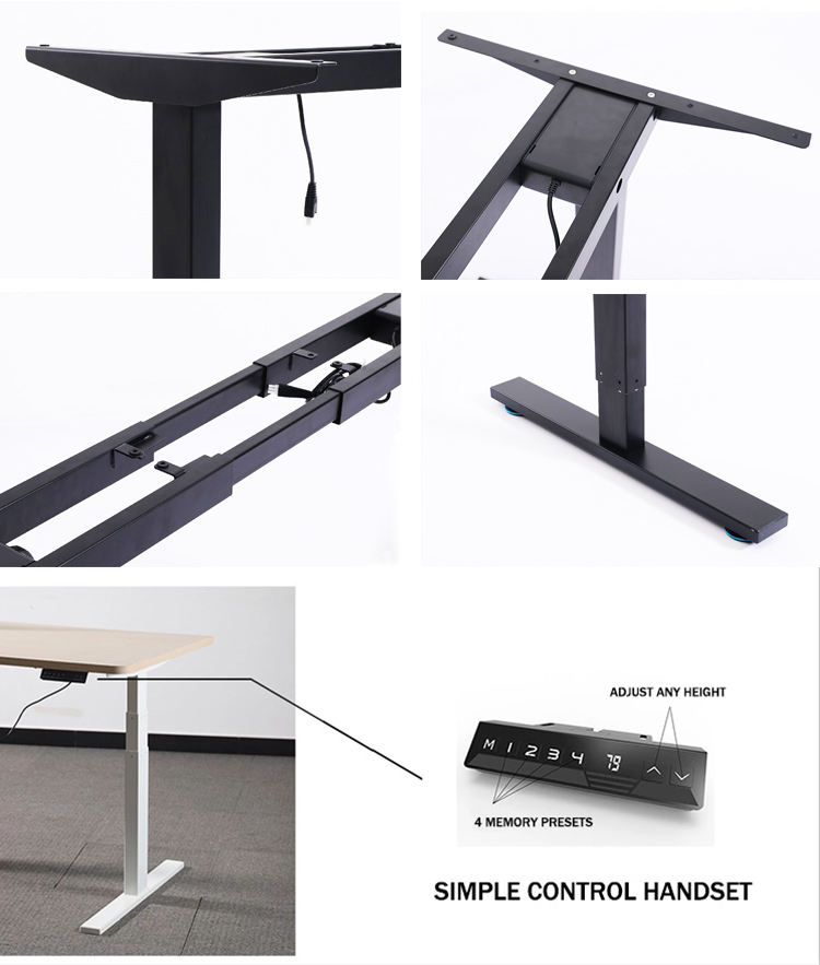 Ergonomic Adjustable Desk Global Hot Sale Healthy Ergonomic Sit Stand Smart Electric Control Adjustable Student Desk