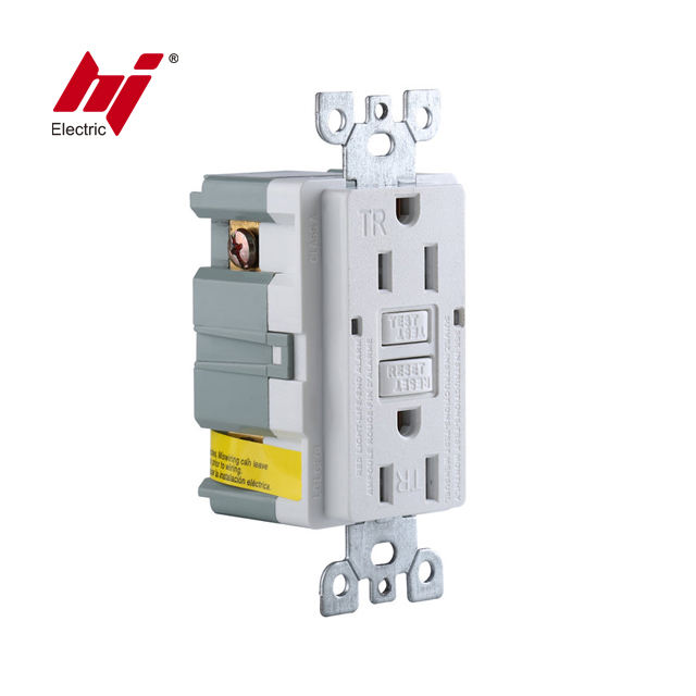 Self Test 15A TR GFCI Receptacle Socket Outlet UL