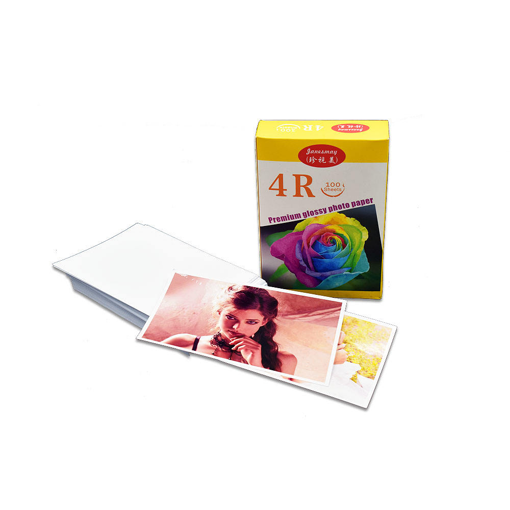 4R cast coated one side glossy 230g photographic for CANON EPSON inkjet printer photo paper
