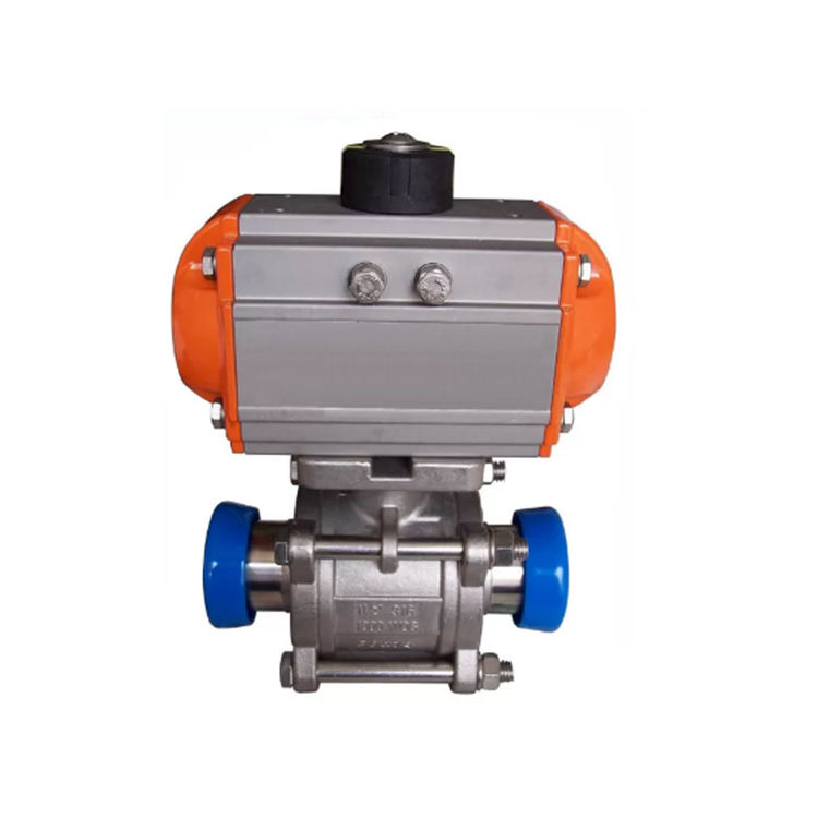 Customized 4 Inch Ball Float Valve Motor Drive Pneumatic Ball Valve Actuator