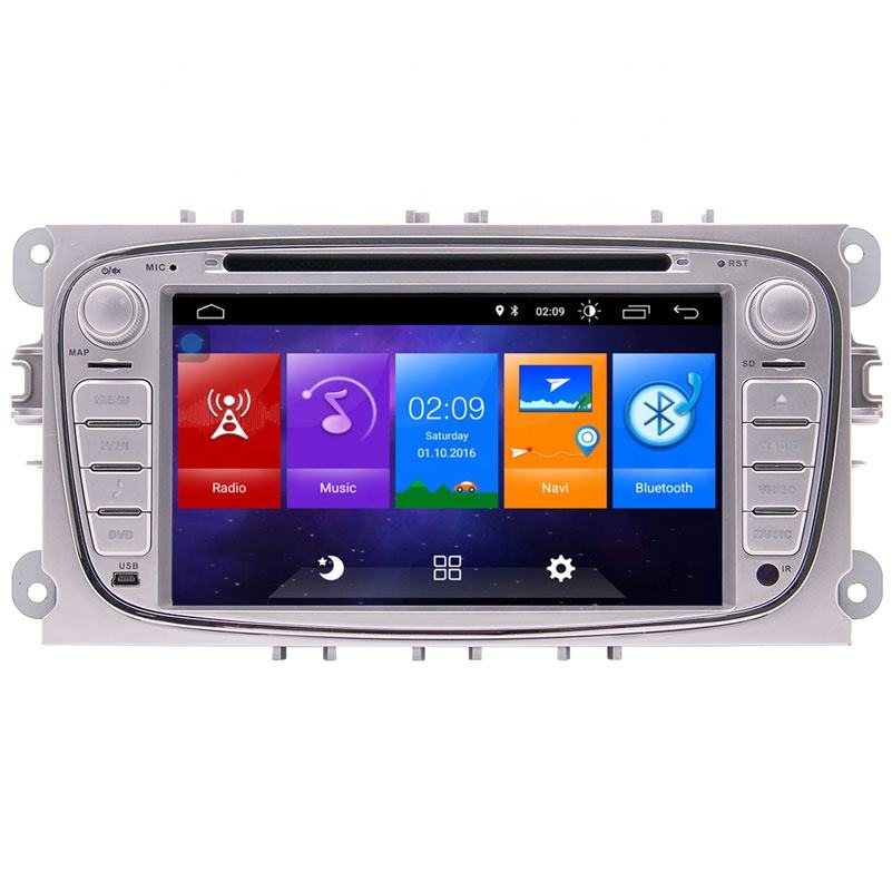 Android 10.0 2 16GB Auto <span class=keywords><strong>DVD</strong></span> Multimedia Player im Dashboard Stereo GPS Navigation Head Unit Spezial für Ford Focus mit CANBUS