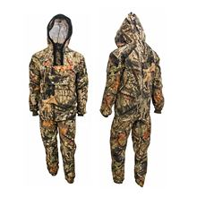 Hunting camouflage clothing with net hat hunting outdoor gear for hunter from BJ Outdoor