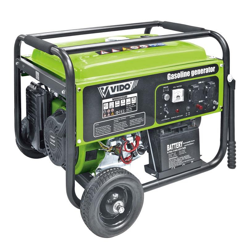 VIDO united small smallest stroke professional power value portable phase petrol inverter generator power price in nigeria