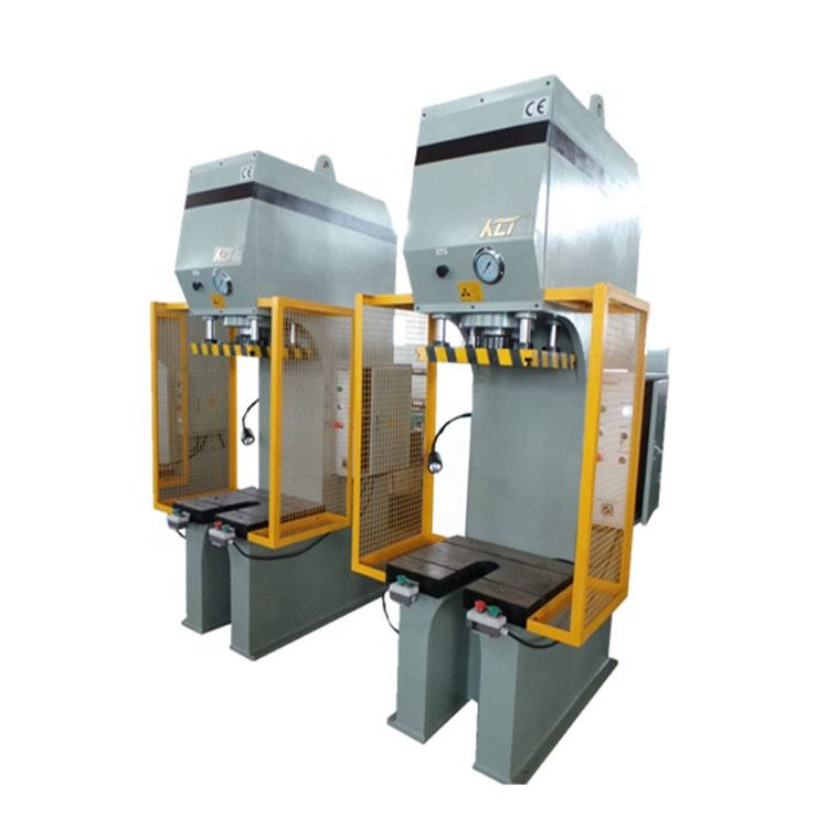 Hand c frame hydraulic stamping punch press machine