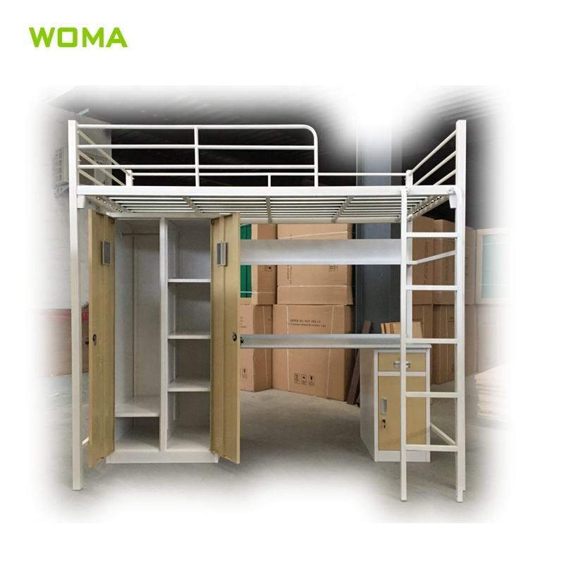 adult bedroom cheap iron bunk beds with mattresses for hostels
