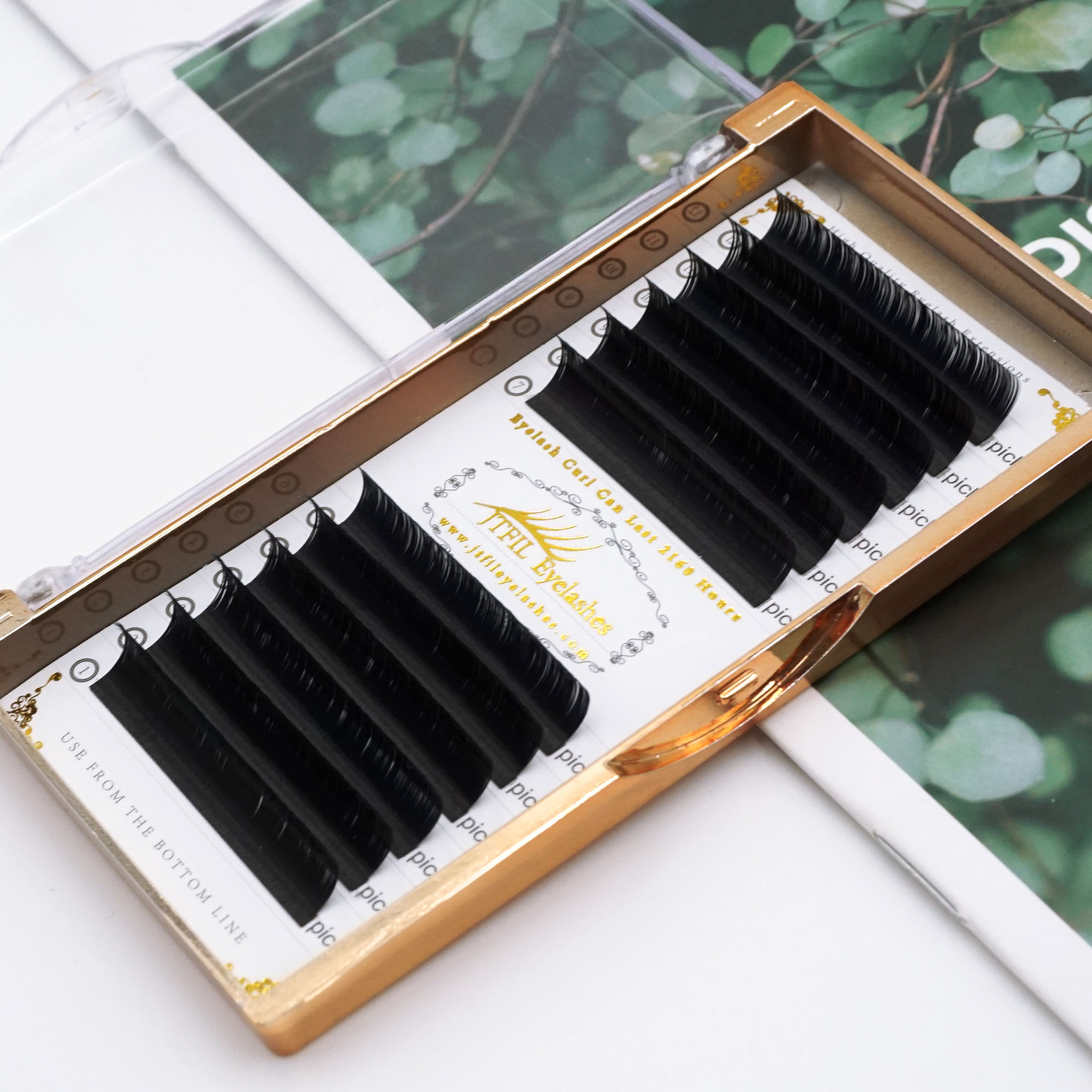 Regular dark black matte 0.03 korea mink lashes extension bloom in 1 second individual false eyelash extension