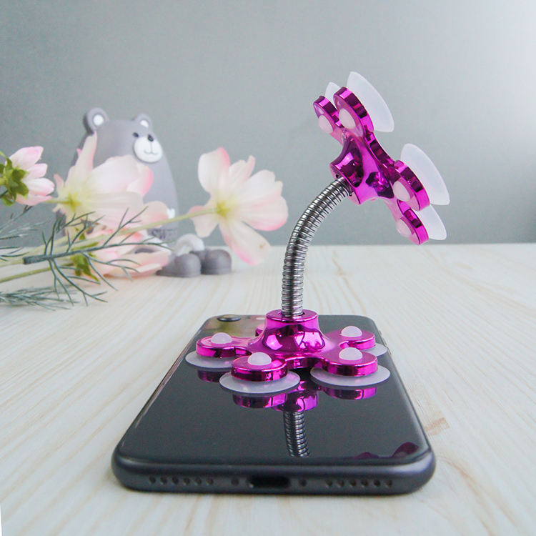 Universal Cell Tablet Stand Sucker Card Silicone Mount Smartphone Accessories grip Phone Holder
