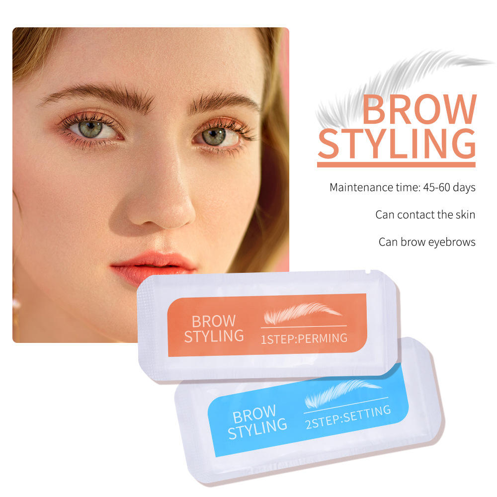Ibcccndc Brow Lamination Kit Thickens The Eyebrows Deepen Eyebrow Color Improve Eyebrow Shape Safety Major