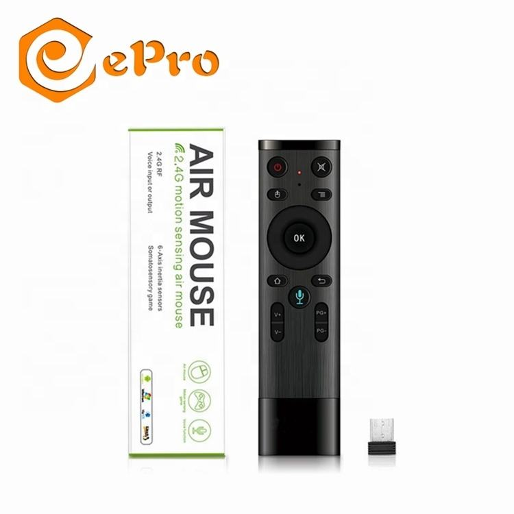 Q5 with Voice air mouse 2.4G wireless keyboard Q5 air mouse support voice input search remote for tv box mini pc Q5 remote
