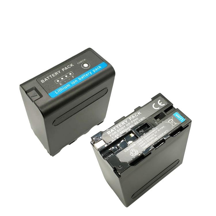 Censreal Camcorder Battery 10400mAH 7.4V with LG Battery Cell NP-F970 NP-F990 NP-F980D OEM Service Support
