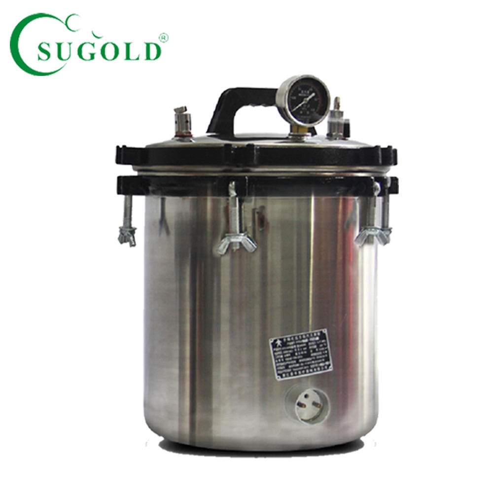 XFS-280A 18L Portable type stainless pressure autoclave