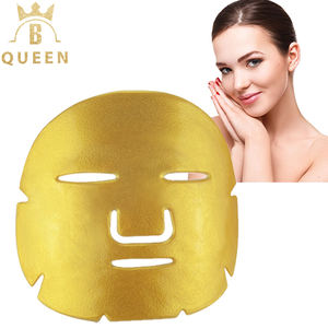 Oem Odmขายส่งDeep Moisturizing Facial Tissueแผ่นMask Organic Gold Collagen Facial Mask