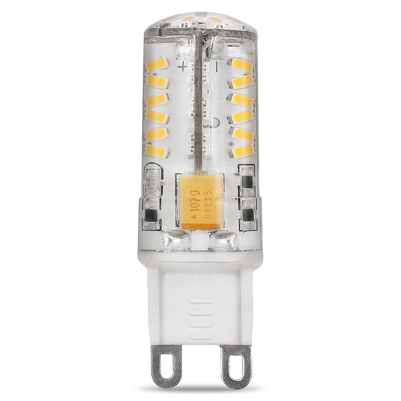 Warm Wit 2.5W Keramische Cover LED Lamp AC/DC 12V G9 LED Bright Lamp