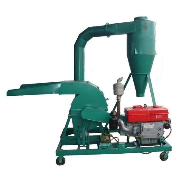 press waste wood sawdust crusher machine