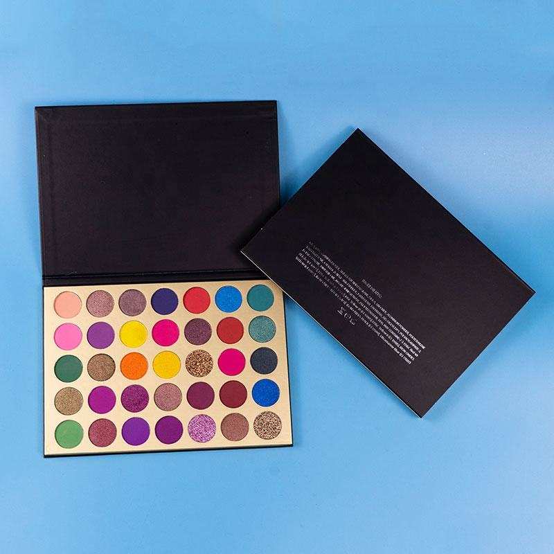 <span class=keywords><strong>Design</strong></span> unico Senza Trucco di Marca OEM Private Label Eyeshadow Palette