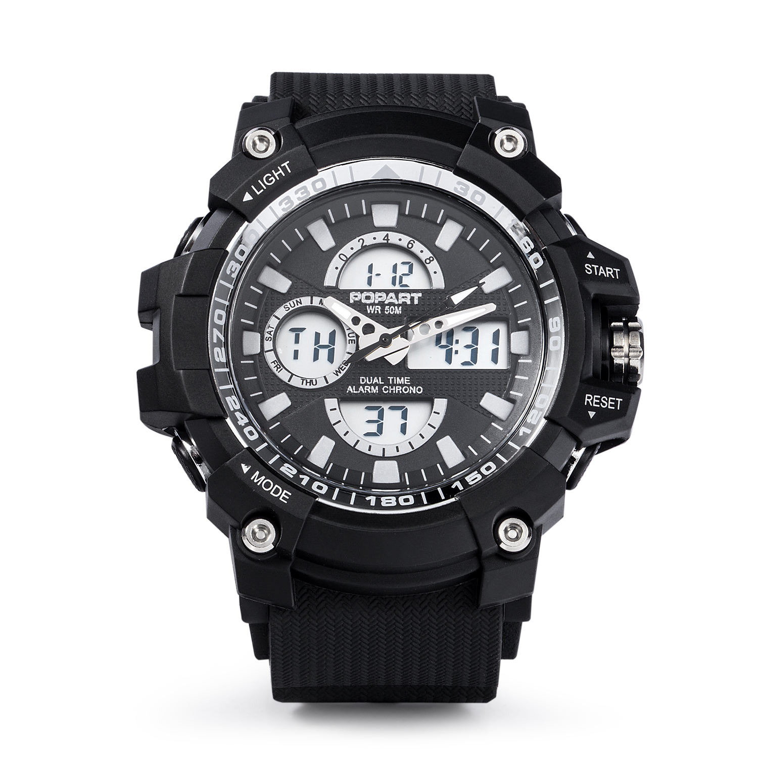 Hot Sale Custom Logo man Sport Digital Display Watch For Boys