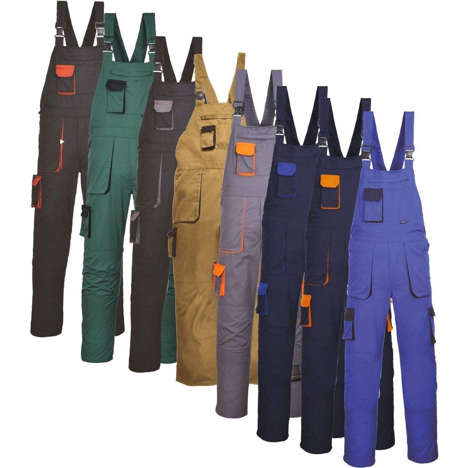 Factory custom made bib work overalls for men anti-static waterproof work clothes overalls