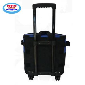 Insulated Thermal Wine Cooler Trolley Bag Lunch Drink Cool Storage Food Bags
