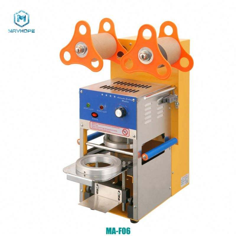 High Quality Best Price Cup Sealing Machine Fruit Juice Filling and Capping Machine / Sealer Machine For Milk Cup