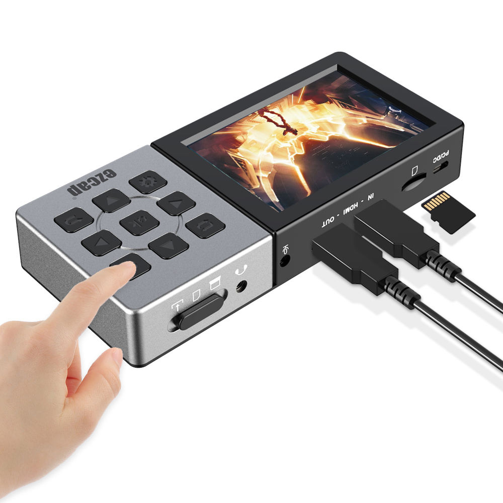 Portable HDMI Video Recorder with 3.5inch Display