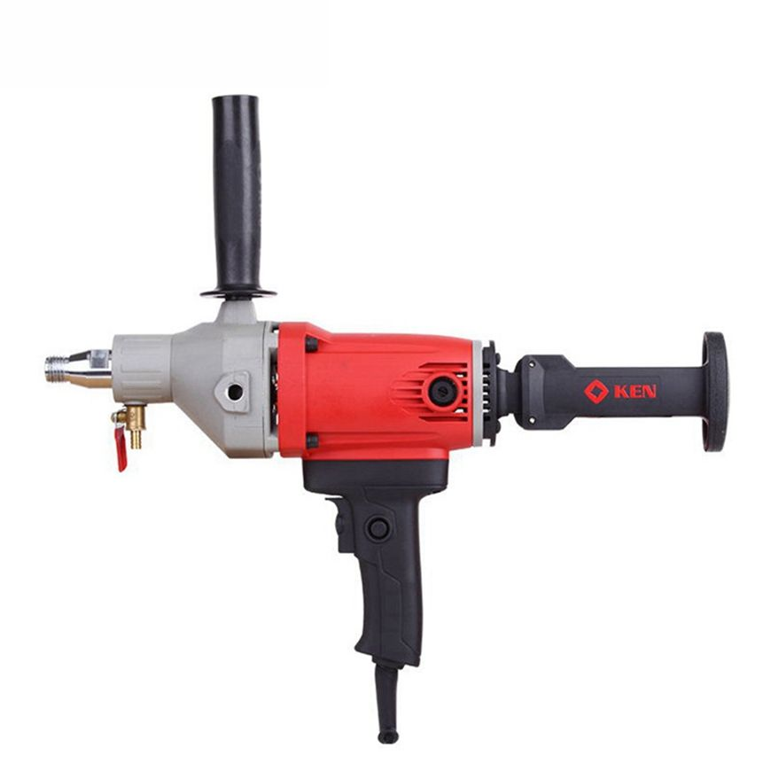 KEN Dual-Purpose Core Drill Machine for Wet Drilling Concrete Complex of Handheld and Desktop Machine 1400W 110MM