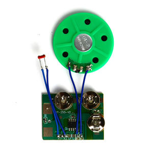 In stock pre recordable light sensor sound module for greeting card