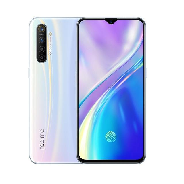 Realme X2 X 2 6.4''AMOLED Screen Phone Snapdragon 730G 6GB 64/128GB 64MP Quad Camera NFC Cellphone OPPO VOOC 30W Fast Charger