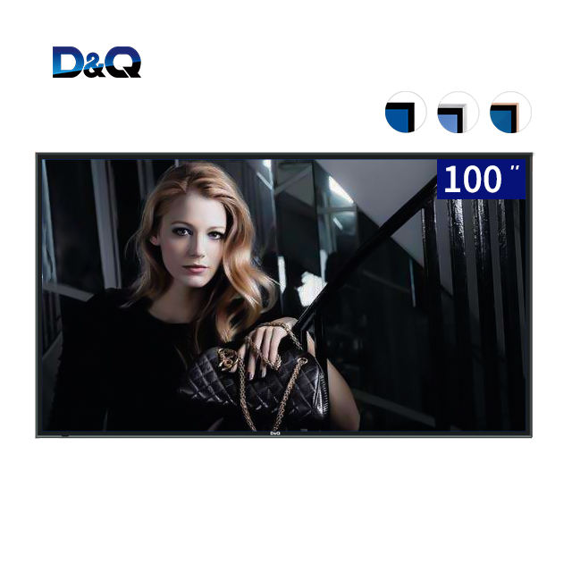 wholesale factory 100 inch touch screen 4K smart tv with android wifi,100 inch android tv