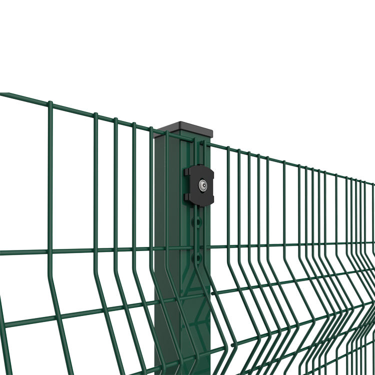 Easily Assembled Feature And Metal Frame Material Welded Wire Mesh Garden Farm Fence
