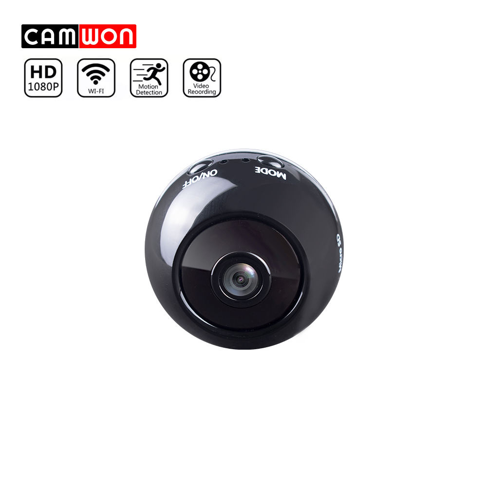 Camwon 1080P Mini Security CCTV Wireless Camera Night Vision TF Card Storage Mini Spy Hidden Camera WiFi Battery Charging