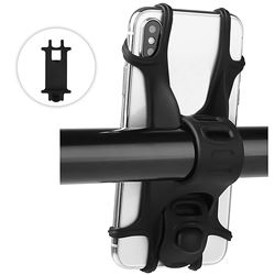 Factory Wholesale Universal Silicone Bike Mount Mobile Phone Holder phone holder for bicycle