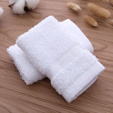 JR1157 100% cotton long twist terry face towel wash cloth