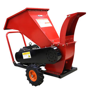 Industriële Hout Log Hout Grinder Shredder Mulcher Chipper