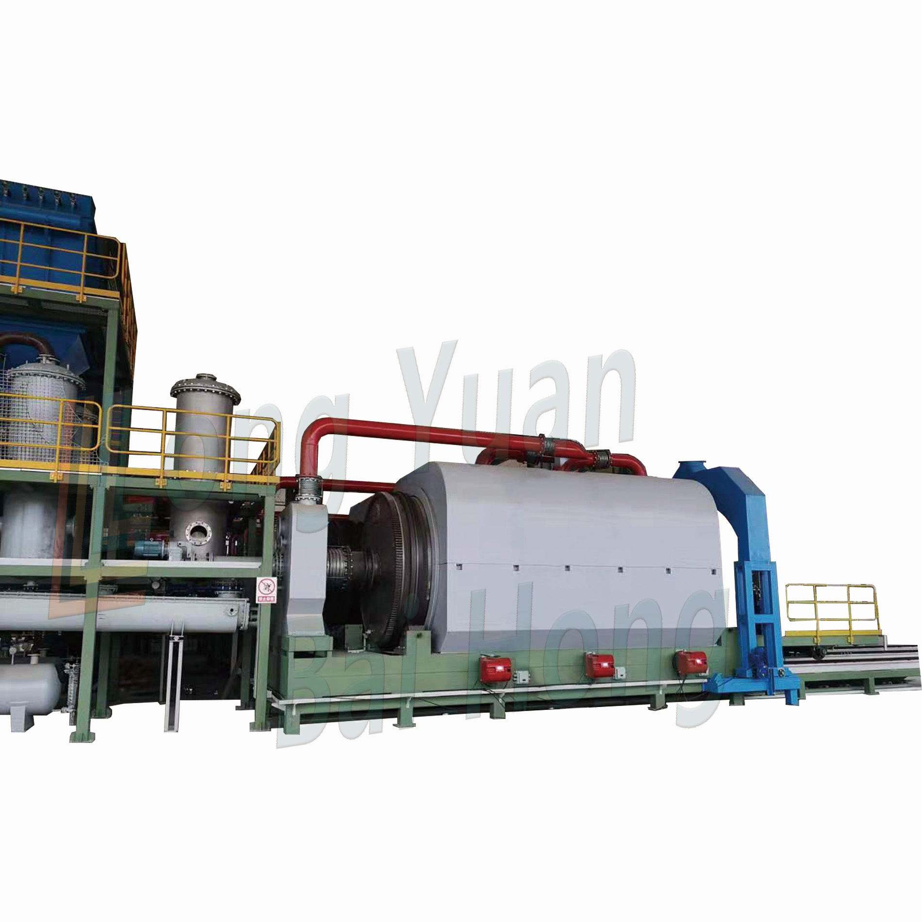 Rubber Processing Repair Machine 30T Continuous Pyrolysis Plant Waste Plastic Pyrolysis Plant