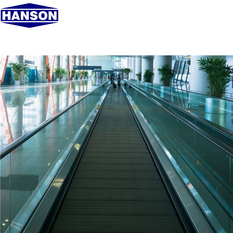 Hanson Brand 9000 Person Per Hour 0 Degree Electric Commercial Automatic Moving Walk