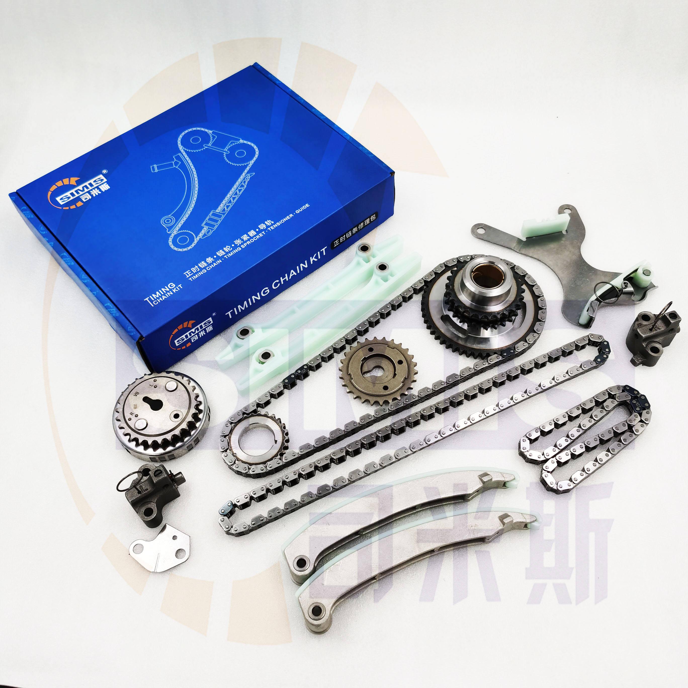 09-10 Dodge Avenger Chrysler Sebring 2.7L Timing Chain Kit+Tensioner+Cover VIN D