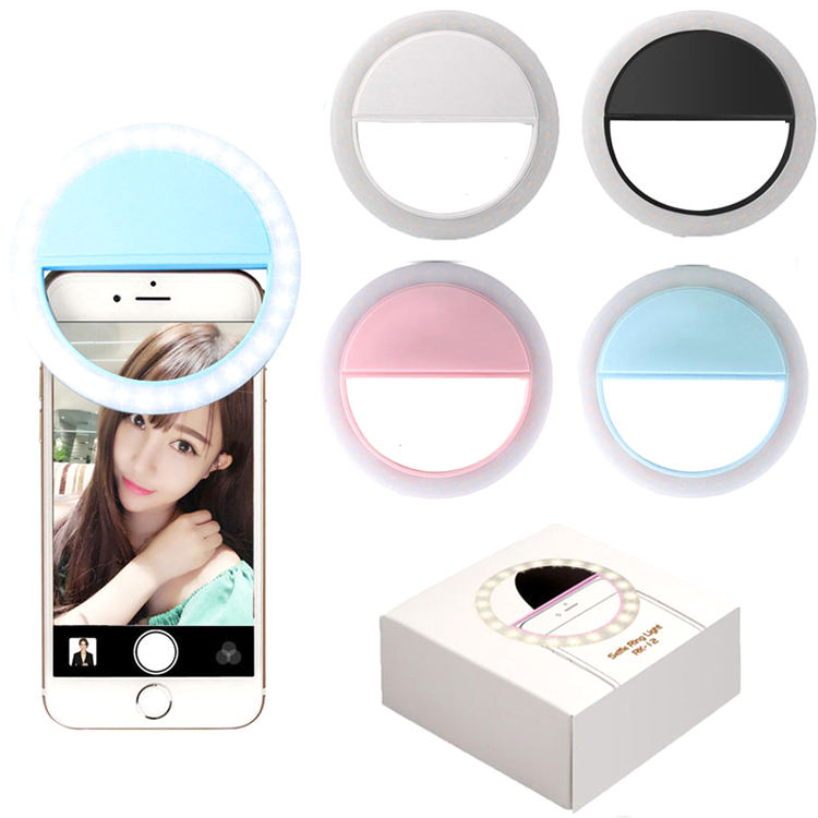 TikTok SG11 Portable USB Charging LED Phone Rechargeable Fill Selfie Ring Light